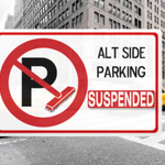 Good morning, commuters! Alt. side parking rules are SUSPENDED today AND tomorrow due to the impending snowstorm http://t.co/k6JRs7thZm