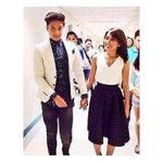 Holding hands while walking x Heart Necklace ???????? Happy Royal KathNiel Day! ???? http://t.co/jrfkINKuzn