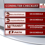 Trains are running on schedule this morning but that could change for the evening commute. Plan ahead! http://t.co/3oGfxa3vwL