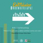 #México es uno solo y debe caminar como uno solo: @EPN #Acciones2015 @NosMueveLaPaz http://t.co/COFjqycxSx