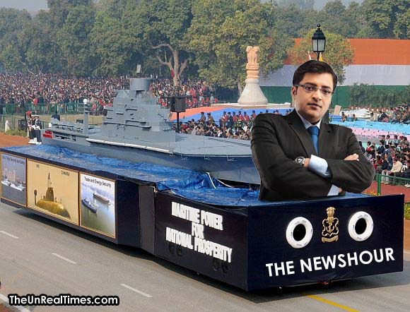 EXCLUSIVE: The most powerful weapon system demonstrated today in the Republic Day Parade #IndianRepublicDay http://t.co/ojKHLkskpG