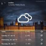 Current #LondonWeather 9°C - Partly Cloudy #London http://t.co/jNrtiSsJ18 http://t.co/c8OfKY2ef9
