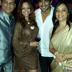 @ActorMadhavan: With friends and wifey at Trisha's and Varuns engagement party... Fun times ... http://t.co/3FVam8WlQK