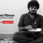 171 days 10 hrs 54 mins 26 secs since Ahmed Rilwan (@moyameehaa) was abducted. help #findmoyameehaa! http://t.co/TfRXKxTIBy