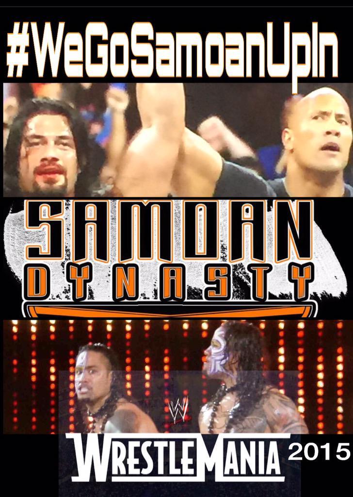 @WWERomanReigns @TheRock @WWEUsos malo lava aiga #Proudfamilymember  Great night #WeGoSamoanUpInWWE http://t.co/PqGg5Cyr1x