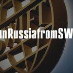 """Отключение рашки от SWIFT - это, как """"контрольный в голову"""", чтоб не мучалась и не мучала других #BanRussiafromSWIFT http://t.co/f0ic7r6K0N"""