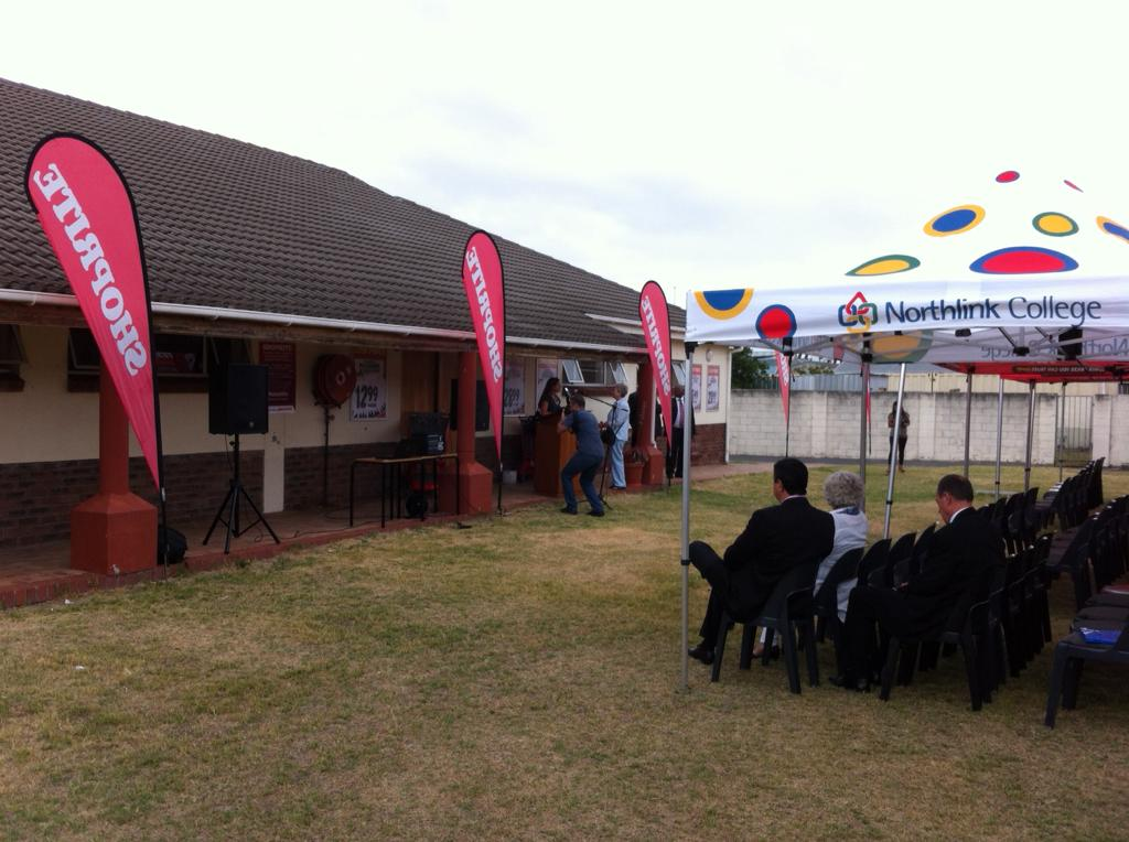 """Such a great initiative! """"@northlink: @Shoprite_SA and Northlink College getting ready....#ShopriteBeMore http://t.co/E8d2MRuHqY"""""""