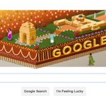 Google marks #RepublicDay with tableau doodle http://t.co/z26gzV6KoE http://t.co/GOpWI4M3i0