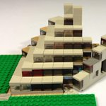 Speaking of Norwich, I'm building this at the moment. Ziggurat student residences from the UEA campus… #Lego http://t.co/ZBfMObhmZo