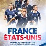 Procurez-vous vos places pour #FRAUSA le 8 février à Lorient (18h): http://t.co/cVR8ZkviRr #AllezLesBleues http://t.co/nMvJ4Akg4M