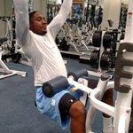 @Loustrength @TarHeelFootball @TarHeelStrength @CoachFedora Marquise crushing it on #ExplosiveDay in the weight room http://t.co/9mEDjErYGX