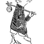 The iconic cartoonist, R K Laxman, whose cartoons we woke up to for years, is no more. He passed away at 94. http://t.co/I9FrxLuMf0