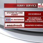 Some changes to service today for our ferry commuters. Safety first! http://t.co/IMHQBamFHz
