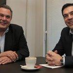 """La derecha nacionalista afirma que """"hay gobierno en Grecia"""" http://t.co/8pPlQgEZJx ANEL dará su voto a Syriza http://t.co/NsOkee5BT9"""
