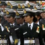For the first time all-women contingents from the three services marched down Rajpath http://t.co/hTkTwZAJJf http://t.co/GtnFeW7u8N