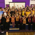 Now that is the Best Non-Uniform Day *ever* @ThackleyPrimary in #Bradford today; love it! #bcafc http://t.co/Ew6HWMTvQA