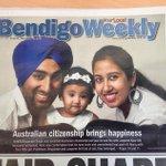 Couple of great articles in Fridays @bendigoweekly #AustraliaDay #WeAreAustralian http://t.co/lRJ6AaEltW