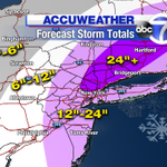 Expected Snowfall Through Tuesday! A Ton! http://t.co/aTKvtw88q5