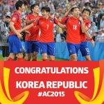 잘했다~ ^^ RT @afcasiancup: Congratulations @theKFA on reaching the #ACFinal!! #AC2015 #KORvIRQ http://t.co/nMTmmUqdYN