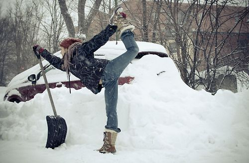 Занятия йогой в зимний период