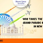 Q6 Who takes the salute at the grand #parade on #republicday in #newdelhi? Dont forget to use #Republic66! http://t.co/y3oBj87pxT
