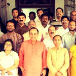 RT @AShetty84: Group photo @vhsindia held under the Chairmanship of Dr @Swamy39 at Chennai today @surnell @ranganaathan @MRVChennai http://…