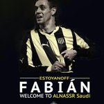 Officially: #ALNASSR signed a 6 month contract with the Uruguayan winger Fabián Estoyanoff. Welcome to #ALNASSR! http://t.co/It6JCFFZ8x