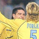 #GraciasRoman por tanto fútbol. Rival, compañero y sobre todo un amigo! http://t.co/eK4itKTn5y