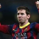 [#Stat] Messi a inscrit 341 buts lors de ses 341 derniers matches avec le Barça ! http://t.co/dTOWn8Rqmp