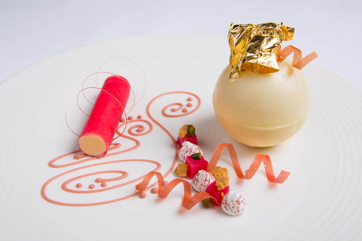For Valentine's 2015, I've created Scotland's most expensive dessert: my rhubarb and champagne crumble http://t.co/p2TlMSig3U