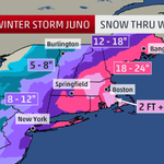 2 FEET+ of #SNOW possible for parts of the #Northeast, #BLIZZARD conditions develop tonight: http://t.co/Hqr9xoAWzB http://t.co/QupfghVp3w