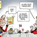 CARTOON: Tony Abbott awards Prince Philip a Knighthood #auspol #knightsanddames #AustraliaDay #knightmare http://t.co/h5qioJhR5Z