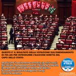 """.@GiorgiaMeloni: """"#FdIAN ha presentato emendamenti per introdurre elezione diretta Presidente Repubblica"""" http://t.co/LqjWNoUwNP #Matrix"""