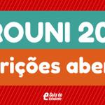 Começou, galera! As inscrições para o ProUni 1º/2015 estão abertas! http://t.co/rx7yXDbl5d http://t.co/fiEjy3yi1l