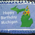 Happy 178th Birthday to Michigan. The Great Lakes State became nations 26th state on January 26th, 1837. http://t.co/Sp5ZUuHX6C