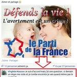 Virginie Masson du Parti de la France et ses intéressants dilemmes éthiques. http://t.co/TXut17bZYI