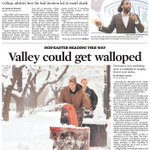 Todays headlines: @DonteStallworth @MoravianCollege #snow @TempleUniv Read it in http://t.co/YdmA8Pv1O3 @mcall http://t.co/lAS3YLz7xr