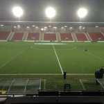 At Leigh, which appears to be Lancashires capital of supermarkets, for United U21 v Liverpool U21. http://t.co/t4A3FqEnOQ