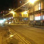 Pictures of the police cordon on Dale Street @MENnewsdesk http://t.co/ngiNPveBMe
