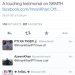 Shameless self promotion but 2 big 2 pass up;@ImranKhanPTI tweeted my piece 4 SKMH.Read here https://t.co/JgnZtdyYXw http://t.co/0hip18oewo