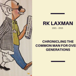 Chronicling the common man for over 2 generations: RK Laxman, 1921 - 2015. http://t.co/WhVrzSDY3z