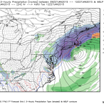 Newest morning NAM model trends westward, toward the European model solution. Prolific snowstorm. http://t.co/GCH8Oe0ML0