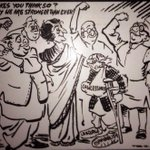Decades old, but as relevant today. RK Laxman. 1921 - 2015. http://t.co/MrIKD6s6RH