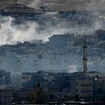 #Syrie État Islamique : les djihadistes boutés hors de #Kobané > http://t.co/HeaVFlLjJz http://t.co/yLGwbSwkr5