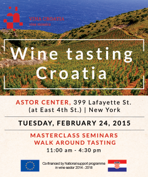 #Croatia Grand Tasting #NYC 2015! #wine #event http://t.co/pLI2hsyvaS