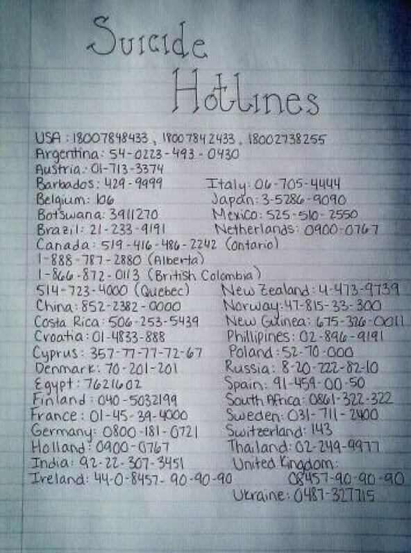 If you do one thing today, retweet this, you could literally save someone's life: http://t.co/pM9xP71CuN