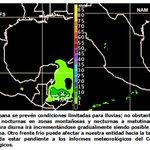 Gran parte de esta semana se esperan condiciones limitadas para lluvias #Veracruz. En unos momentos #BoletínSemanal http://t.co/IUEWNUFElq