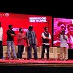 RT @PRO_TigerAudios: JiGarthanda Team On Stage Mass @Actor_Siddharth @Music_Santhosh @karthiksubbaraj Congratz Bro'S . .