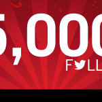 Thanks to loyal followers like yourselves, we have reached this wonderful milestone! http://t.co/F9NRcGcKEv