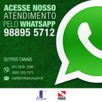 O atendimento Prodepa pode ser feito por telefone, email ou também pelo whatsapp. Prodepa sempre perto de você! http://t.co/fUUzjIrJYB